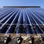 Zonnecollectoren of zonneboilers voor warm water