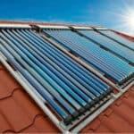 Vacuumbuis zonnecollector